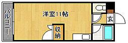 ロイヤルハイツ和白(春入居可)[5階]の間取り