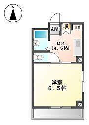 ダイソー13号館[4階]の間取り