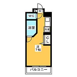 ルネスロワール博多駅南[10階]の間取り