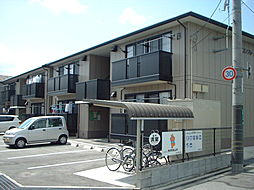 広島県福山市松永町2丁目の賃貸アパートの外観