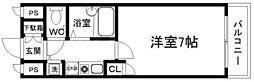リーガル新大阪III[11階]の間取り