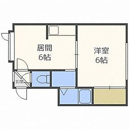 BARRY栄通16丁目[2階]の間取り
