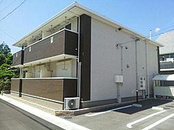 愛知県稲沢市稲沢町北山2丁目の賃貸アパートの外観