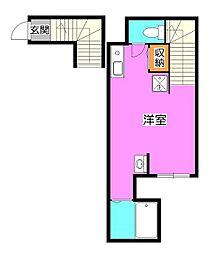 sebosebo清瀬[2階]の間取り