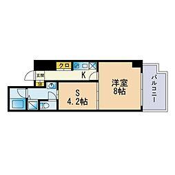 Jigyo HIKARI terrace 1階1SKの間取り