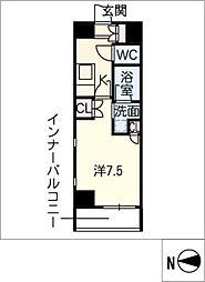 IARIM栄東[3階]の間取り