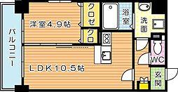 グランハイアット[9階]の間取り