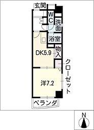 ベル ドミィール[2階]の間取り