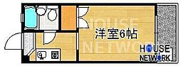 コーポ下鴨13[302号室号室]の間取り