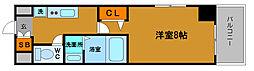 シャトー桜川[505号室]の間取り