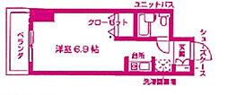 宮前平ハイツ[5階]の間取り