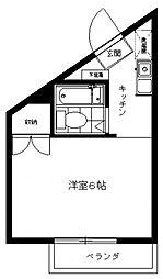三田1092[301号室号室]の間取り