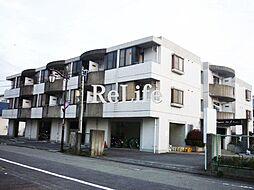 東京都府中市武蔵台3丁目の賃貸マンションの外観