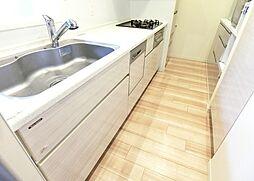 食洗機、浄水器付きシステムキッチン。H29.11月