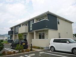 滋賀県甲賀市甲南町野田の賃貸アパートの外観