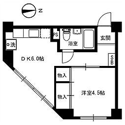 第二音居ビル[3階]の間取り