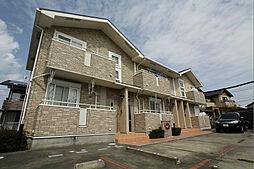 静岡県袋井市天神町2丁目の賃貸アパートの外観