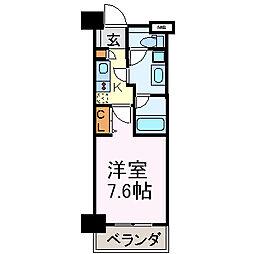 meLiV鶴舞 旧アーデン鶴舞[3階]の間取り