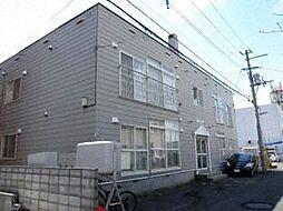 北海道札幌市東区北十九条東8丁目の賃貸アパートの外観