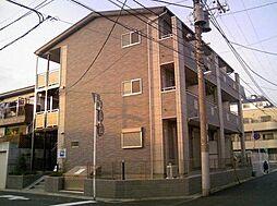 千葉県市川市行徳駅前3丁目の賃貸アパートの外観