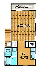 水木宅[2階]の間取り