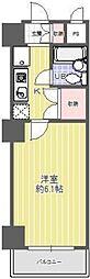 東京都渋谷区恵比寿南2丁目の賃貸マンションの間取り