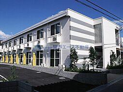 大阪府大阪市天王寺区逢阪1丁目の賃貸アパートの外観