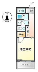 MKタウン安永[2階]の間取り