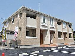 千葉県茂原市八千代3の賃貸アパートの外観