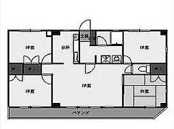 ファーストシティハウス[3階]の間取り
