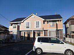埼玉県さいたま市西区大字西遊馬の賃貸アパートの外観