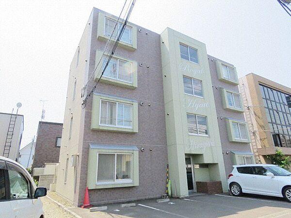 ロイヤルハイアット平岸 2階の賃貸【北海道 / 札幌市豊平区】