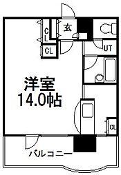 サンシャイン・シティー弐番館[11階]の間取り