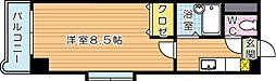 アリビオ黒崎[5階]の間取り