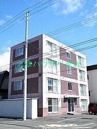 北海道札幌市東区北十九条東14の賃貸マンションの外観