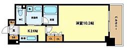 ACTIO梅田東[10階]の間取り