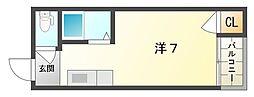 ディパーチャ大和田[3階]の間取り