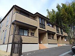 神奈川県横浜市旭区桐が作の賃貸アパートの外観