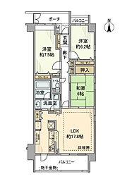 グラン・コート習志野駅前[3階]の間取り