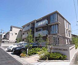 京都府京都市西京区下津林大般若町の賃貸アパートの外観