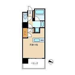 アーク松戸レジデンス[3階]の間取り