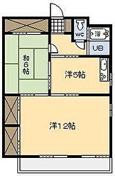 丸栄ビル[3階]の間取り