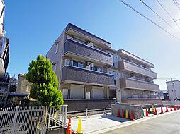 埼玉県所沢市東町の賃貸マンションの外観