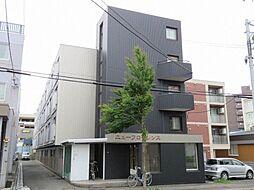 北海道札幌市白石区東札幌四条1丁目の賃貸マンションの外観
