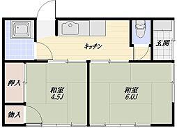 [一戸建] 埼玉県狭山市広瀬東1丁目 の賃貸【/】の間取り