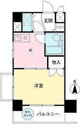 ライオンズマンション聖蹟桜ヶ丘第3[601号室]の間取り