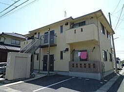岡山県倉敷市中庄団地の賃貸アパートの外観