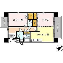 メゾンピザピノ[2階]の間取り