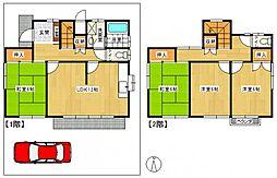 [一戸建] 東京都立川市曙町3丁目 の賃貸【/】の間取り