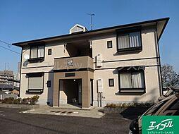 滋賀県大津市山上町の賃貸アパートの外観